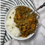 Instant Pot Curry Lentil