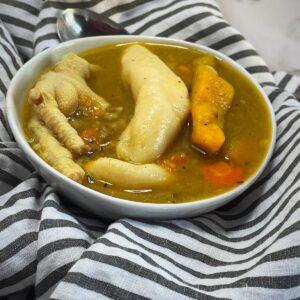 Jamaican Chicken Foot Soup