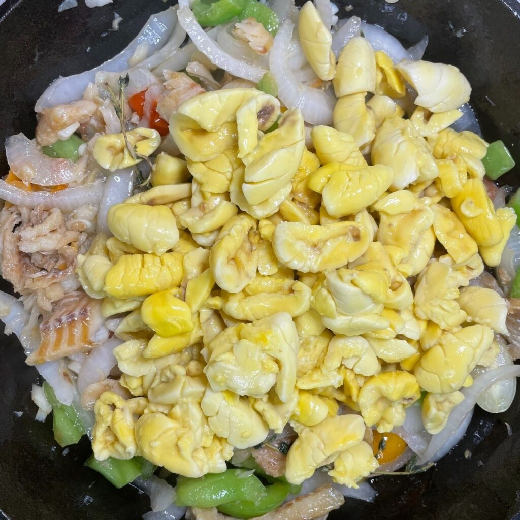 Ackee in the Skillet