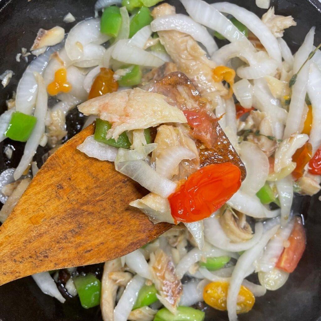 Cook Up Saltfish