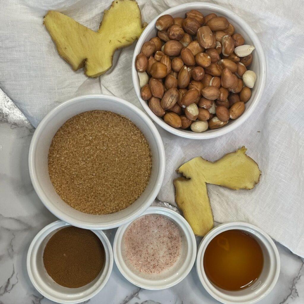 Peanut Drops Ingredients