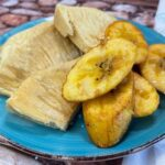 Sweet Plantain and Fried Breadfruit